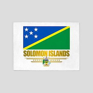 Solomon Islands (Flag 10)2 5'x7'Area Rug