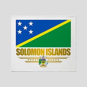 Solomon Islands (Flag 10)2 Throw Blanket