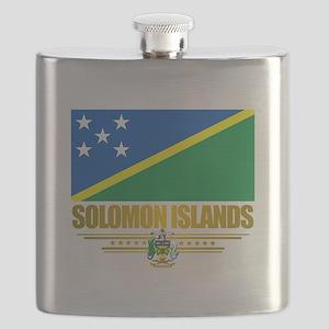 Solomon Islands (Flag 10)2 Flask