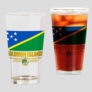 Solomon Islands (Flag 10)2 Drinking Glass