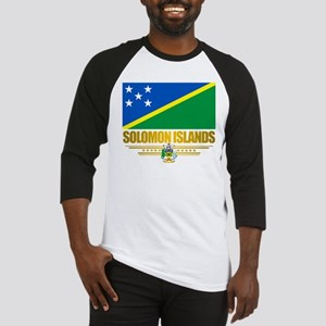 Solomon Islands (Flag 10)2 Baseball Jersey