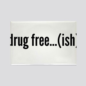 drug free...... kinda? Rectangle Magnet