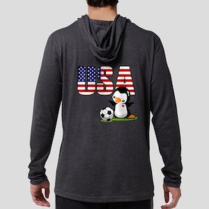 USA Soccer Mens Hooded Shirt