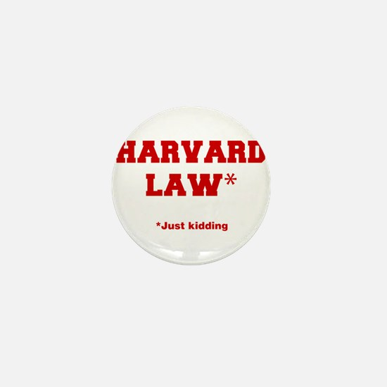 harvard-law-fresh-crimson Mini Button