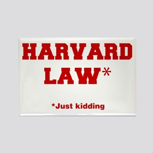 harvard-law-fresh-crimson Rectangle Magnet