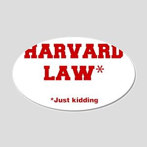 harvard-law-fresh-crimson Wall Decal