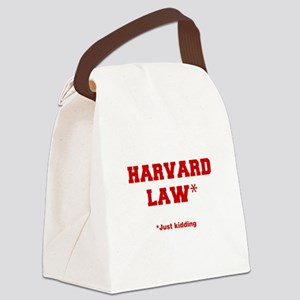 harvard-law-fresh-crimson Canvas Lunch Bag