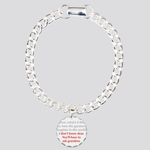 greatest-daughter-opt-gray-red Bracelet