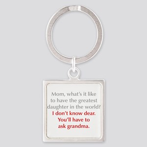 greatest-daughter-opt-gray-red Keychains