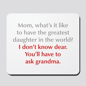 greatest-daughter-opt-gray-red Mousepad