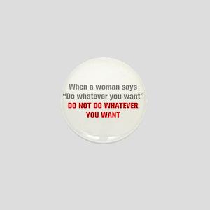 when-a-woman-akz-gray-red Mini Button