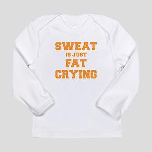 sweat-is-just-fat-crying-fresh-orange Long Sleeve