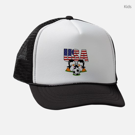 USA Soccer Kids Trucker hat