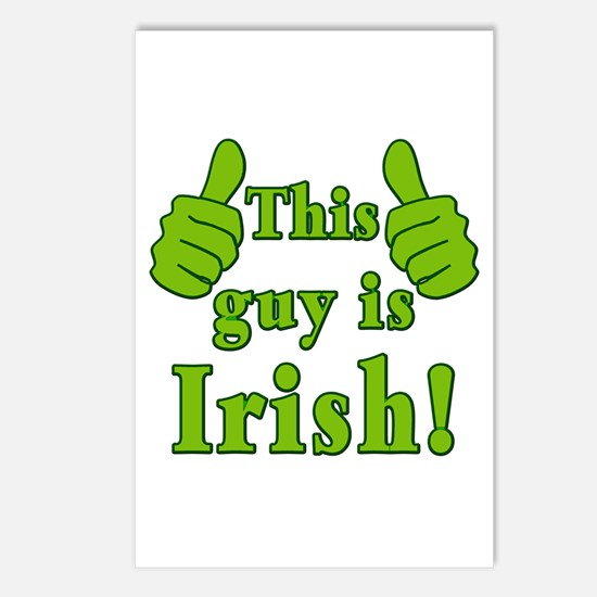 This Guy is Irish! Postcards (Package of 8)
