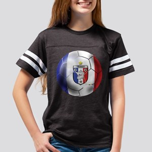 French Soccer Ball Youth Football Shirt