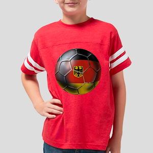 German Soccer Ball Youth Football Shirt
