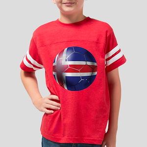 Iceland Soccer Ball Youth Football Shirt
