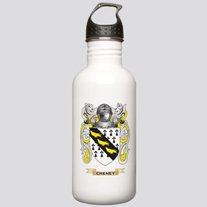 Cheney Coat of Arms Water Bottle