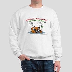 Jewish You A Merry Christmas Sweatshirt