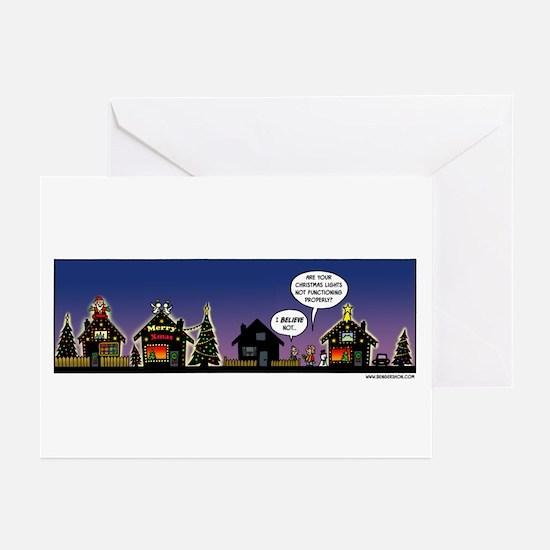 Christmas Lights Greeting Cards (Pk of 20)