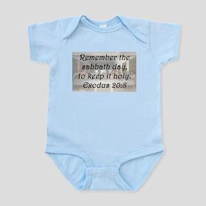 Exodus 20:8 Body Suit