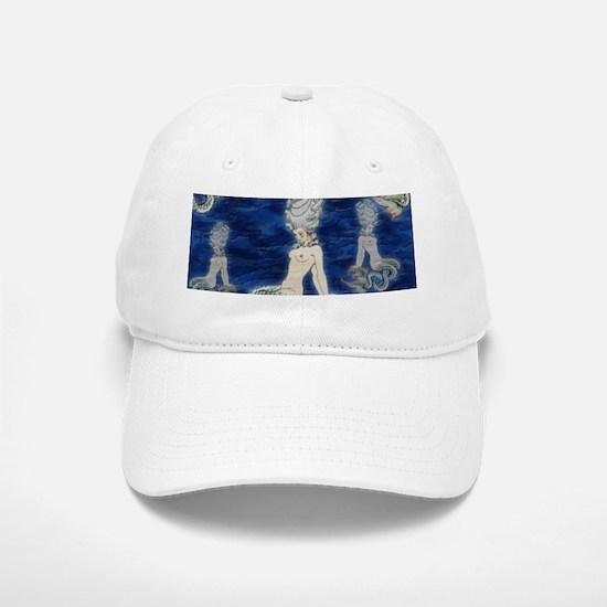 Little Rococo mermaid Baseball Baseball Cap