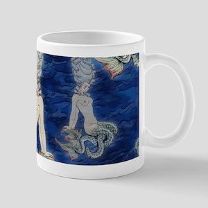 Little Rococo mermaid Mug