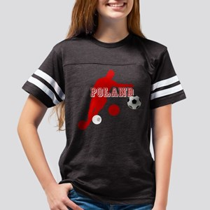 Polish Soccer Player Youth Football Shirt