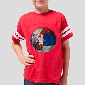 Serbian Football Youth Football Shirt