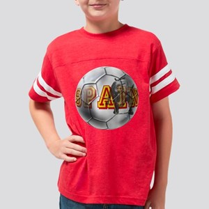 Spanish Soccer Ball Youth Football Shirt