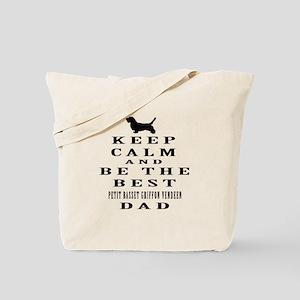 Petit Basset Griffon Vendeen Dad Designs Tote Bag