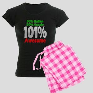 Italian - Aussie Women's Dark Pajamas