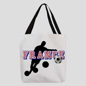 French Football Player Polyester Tote Bag