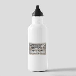 Leviticus 19:18 Water Bottle