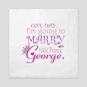 Marry Prince George Queen Duvet