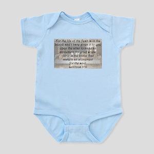 Leviticus 17:11 Body Suit