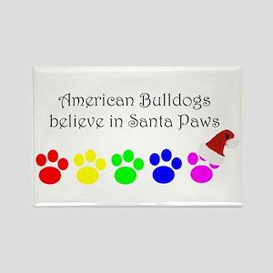 American Bulldogs Believe Rectangle Magnet