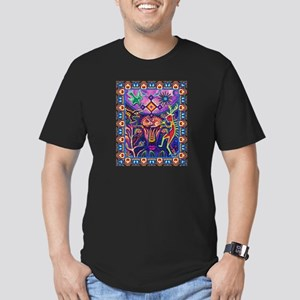Huichol Dreamtime Men's Fitted T-Shirt (dark)