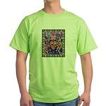 Huichol Dreamtime Green T-Shirt