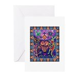 Huichol Dreamtime Greeting Cards (Pk of 10)