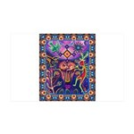 Huichol Dreamtime 35x21 Wall Decal