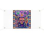 Huichol Dreamtime Banner