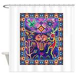 Huichol Dreamtime Shower Curtain