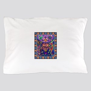 Huichol Dreamtime Pillow Case
