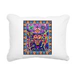 Huichol Dreamtime Rectangular Canvas Pillow