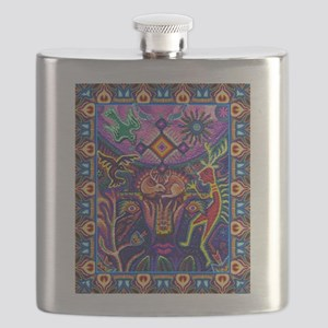 Huichol Dreamtime Flask