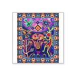 Huichol Dreamtime Square Sticker 3