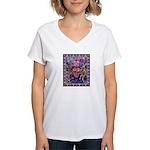 Huichol Dreamtime Women's V-Neck T-Shirt