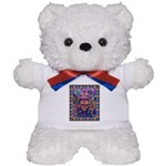 Huichol Dreamtime Teddy Bear