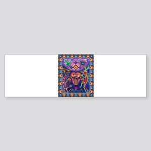 Huichol Dreamtime Sticker (Bumper)
